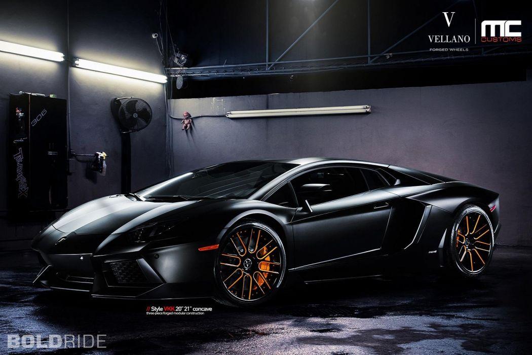 Vellano Wheels 2012 Lamborghini Aventador LP700 supercar supercars wallpaper
