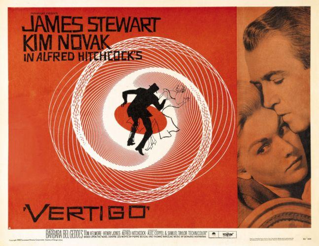 vertigo poster wallpaper