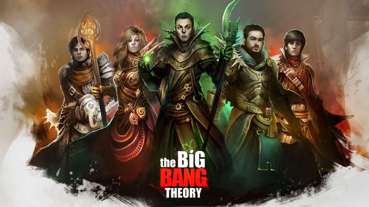 World of Warcraft WOW Big Bang Theory Drawing wallpaper