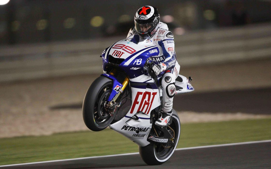 Yamaha R1 Sportbike Wheelie M1 wallpaper