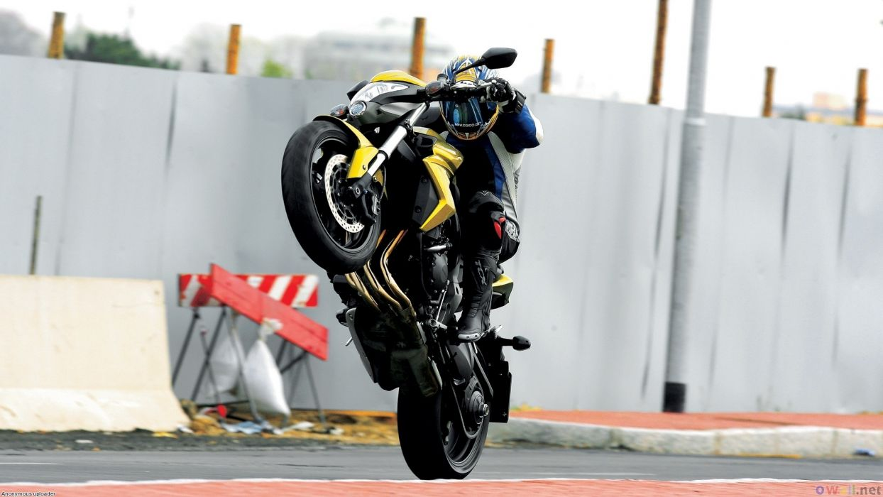 Wheelie Sportbike Naked wallpaper