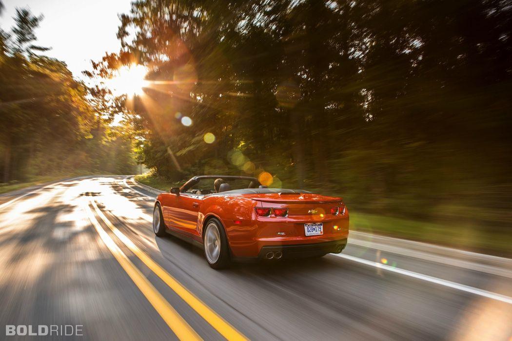 2013 Chevrolet Camaro ZL1 Convertible muscle cars     g wallpaper