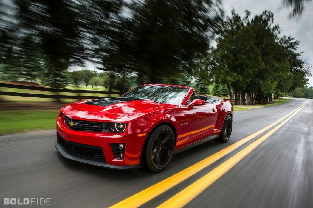 2013 Chevrolet Camaro ZL1 Convertible muscle cars wallpaper