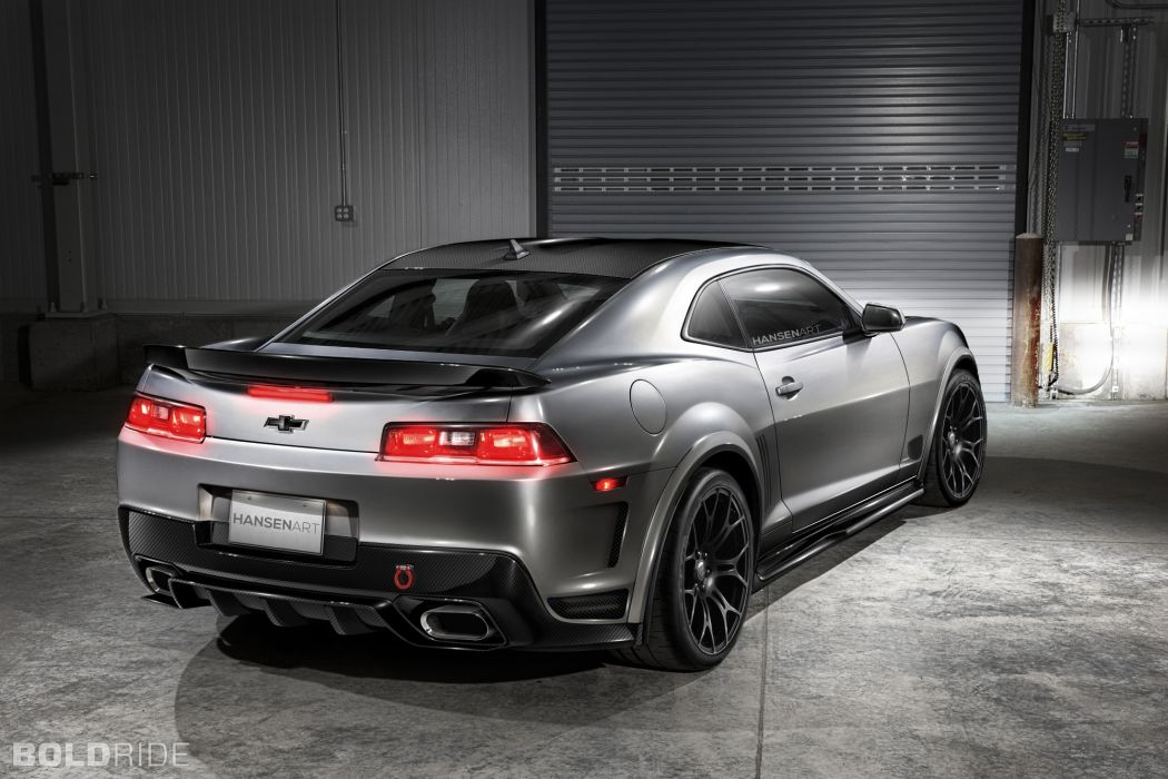 2014 Chevrolet Camaro Carbon Line Concept muscle cars tuning     q wallpaper