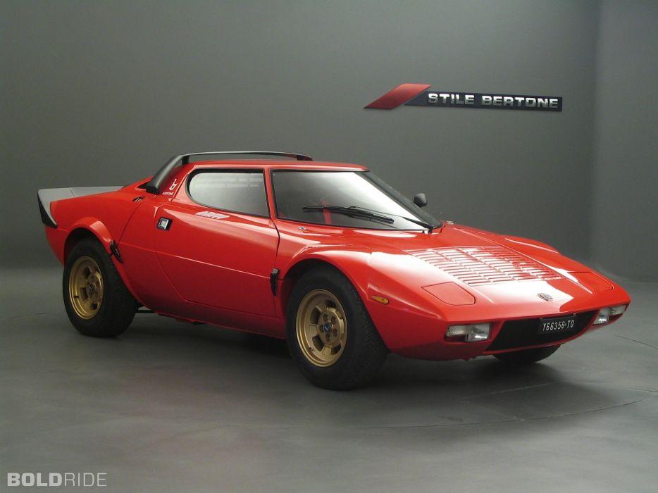 1971 Bertone Lancia Stratos HP supercar supercars wallpaper