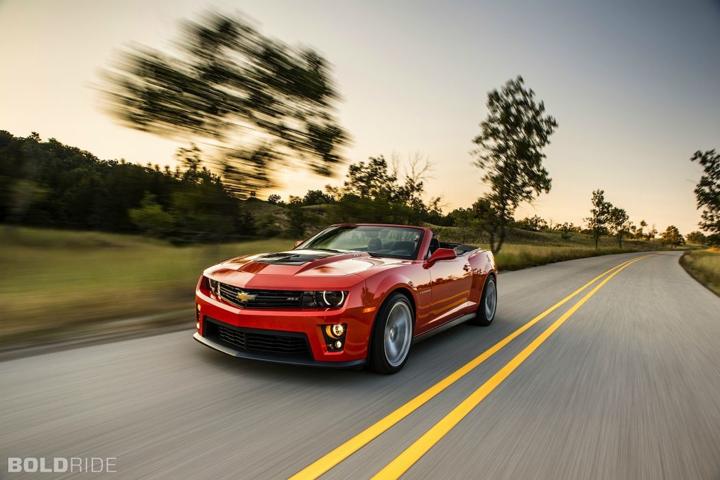 2013 Chevrolet Camaro ZL1 Convertible muscle cars      d wallpaper