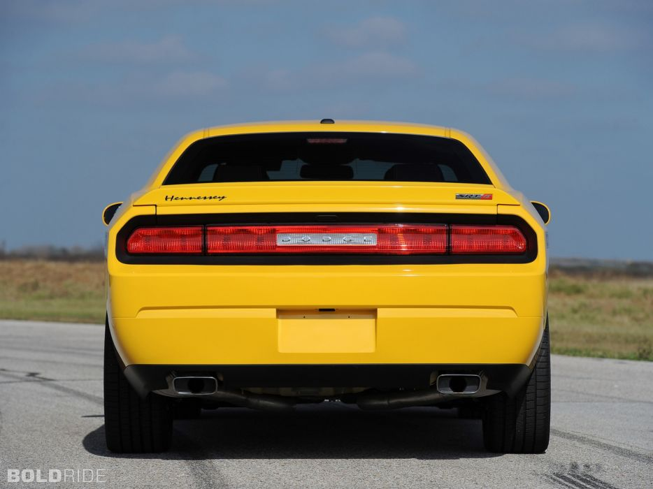 2013 Hennessey Dodge Challenger SRT8 392 Yellow Jacket muscle cars car     r wallpaper