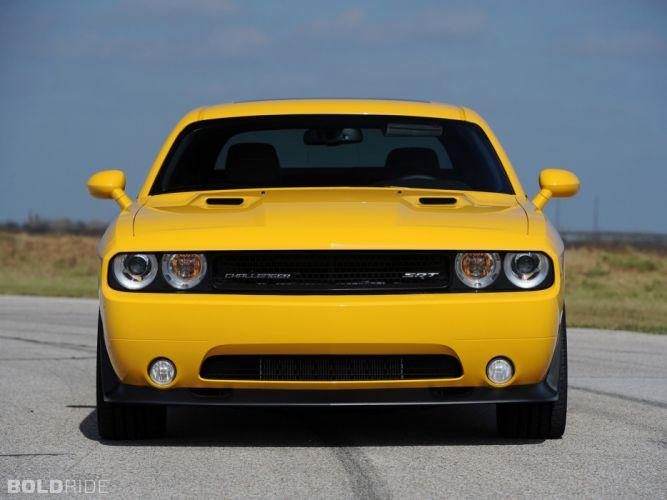 2013 Hennessey Dodge Challenger SRT8 392 Yellow Jacket muscle cars car e wallpaper
