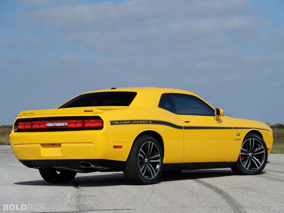2013 Hennessey Dodge Challenger Srt8 392 Yellow Jacket Muscle Cars