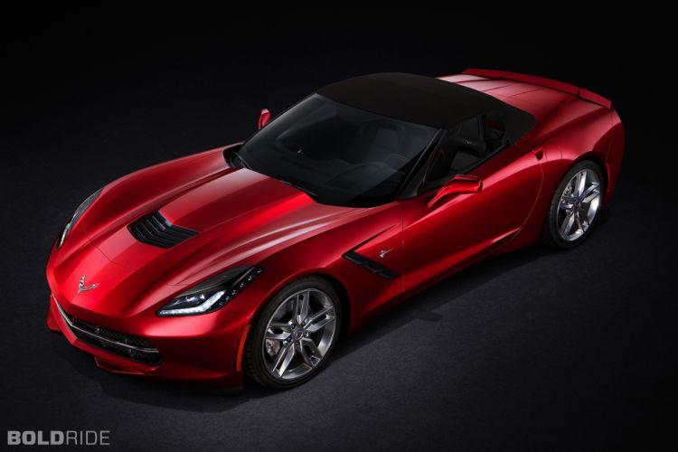 2014 Chevrolet Corvette Stingray Convertible supercars supercar muscle a wallpaper