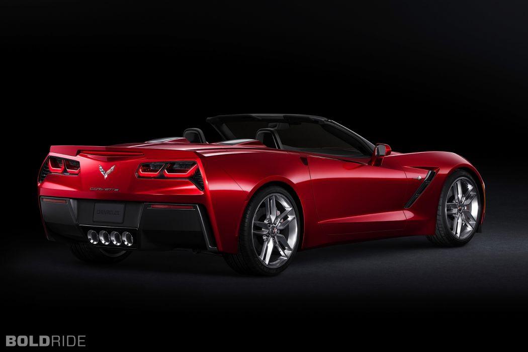 2014 Chevrolet Corvette Stingray Convertible supercars supercar muscle      c wallpaper