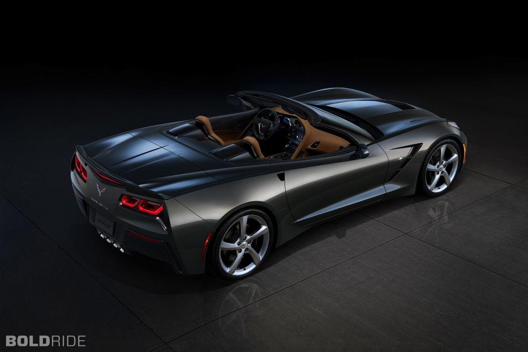 2014 Chevrolet Corvette Stingray Convertible supercars supercar muscle      r wallpaper