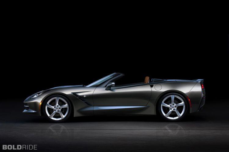 2014 Chevrolet Corvette Stingray Convertible supercars supercar muscle t wallpaper
