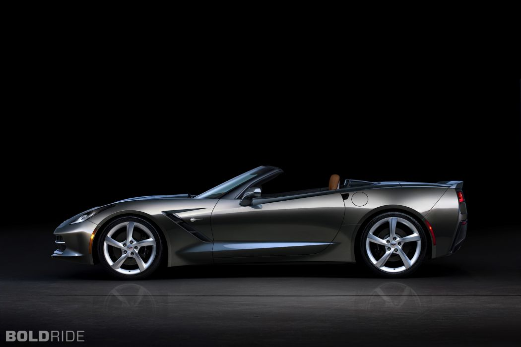 2014 Chevrolet Corvette Stingray Convertible supercars supercar muscle     t wallpaper