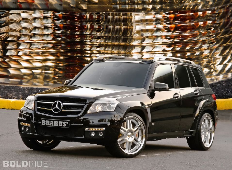 2008 Brabus Mercedes Benz GLK-Class suv tuning wallpaper