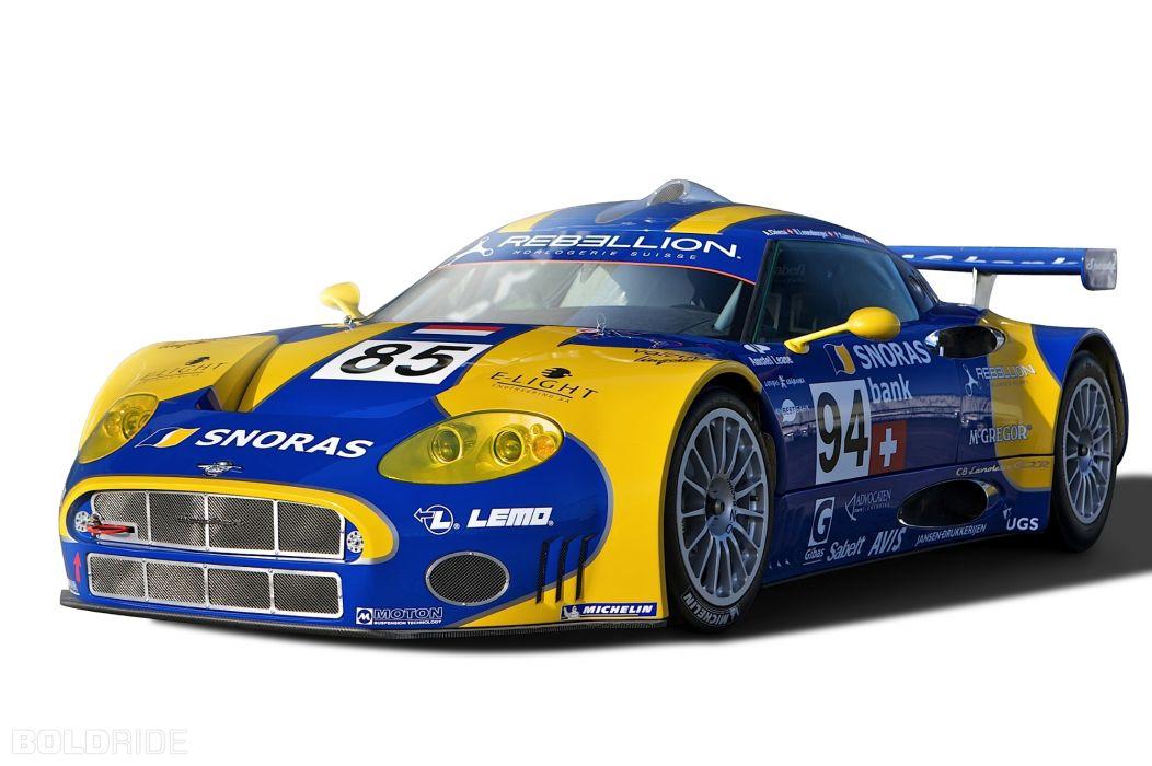 2011 Spyker C8 Laviolette GT2-R race cars racing      w wallpaper