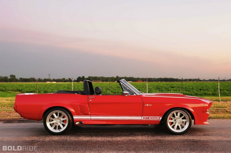 2012 Classic Recreations Ford Shelby Mustang GT500CR Convertible muscle cars w wallpaper