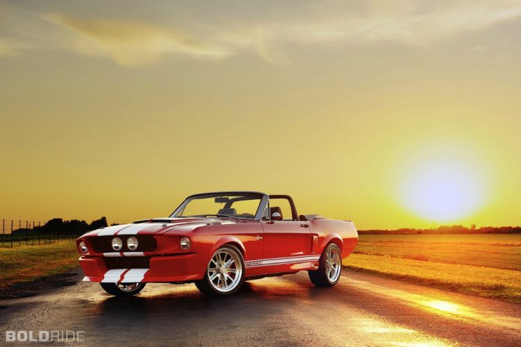 2012 Classic Recreations Ford Shelby Mustang GT500CR Convertible muscle cars q wallpaper