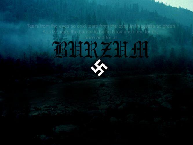 BURZUM black metal heavy hard rock band bands group groups w wallpaper