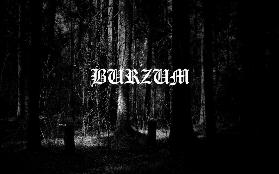 BURZUM black metal heavy hard rock band bands group groups wallpaper