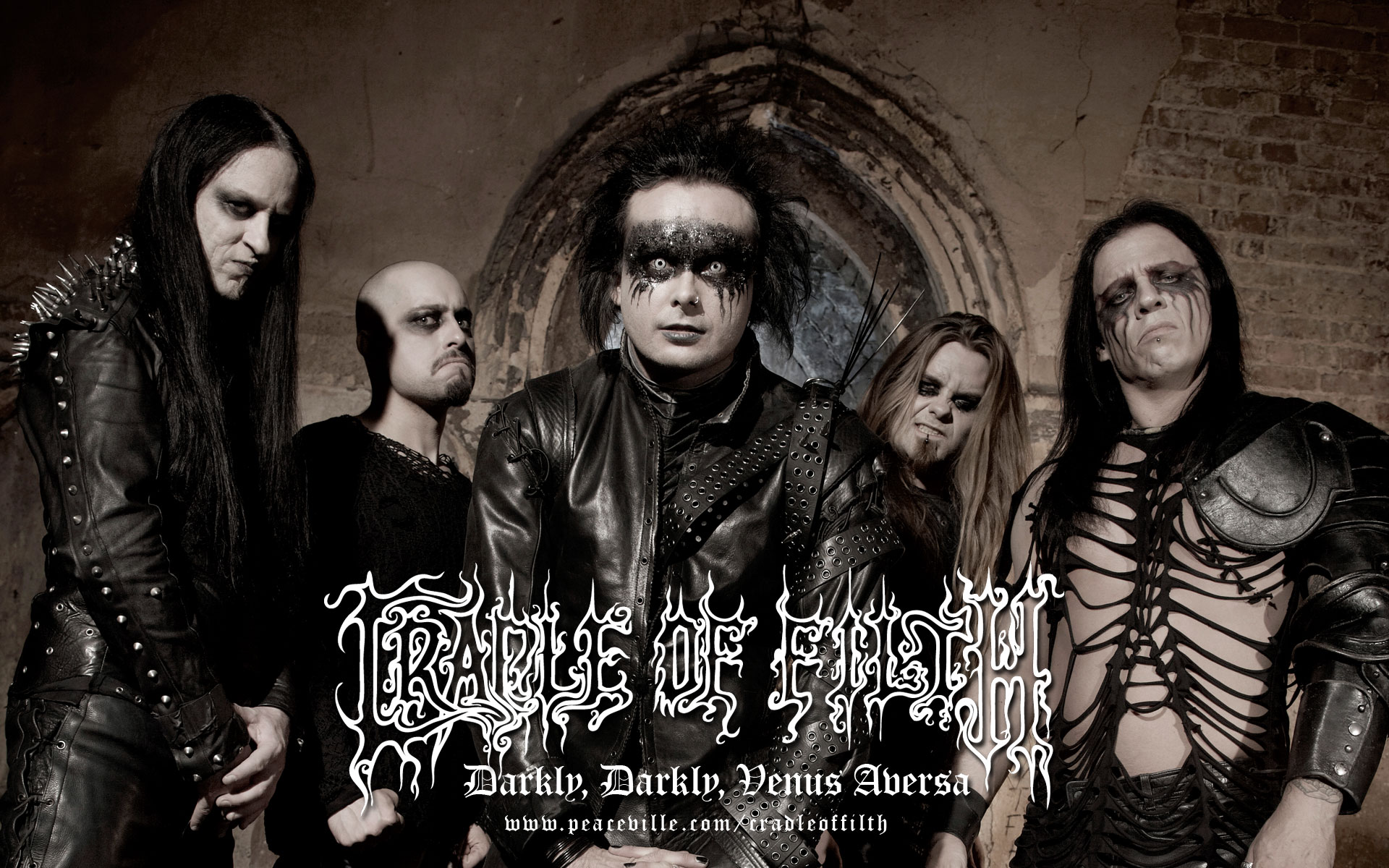 CRADLE OF FILTH gothic metal heavy hard rock band bands ...