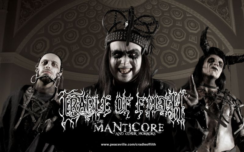 CRADLE OF FILTH gothic metal heavy hard rock band bands group groups g wallpaper