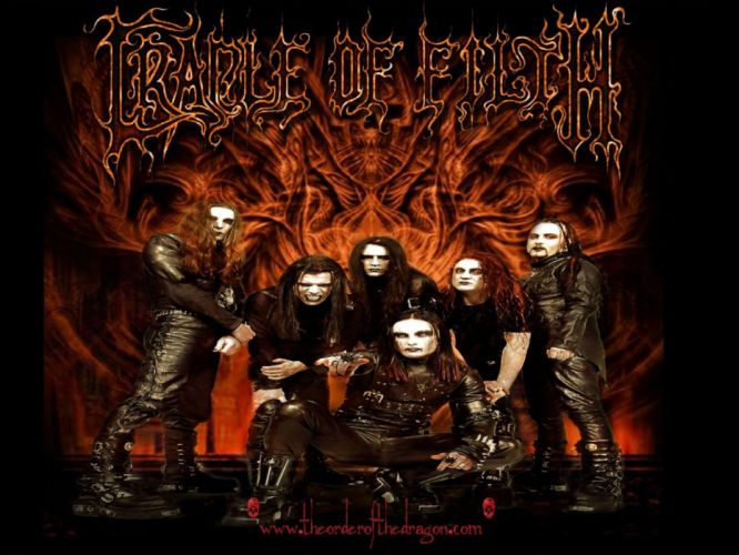 CRADLE OF FILTH gothic metal heavy hard rock band bands group groups x wallpaper