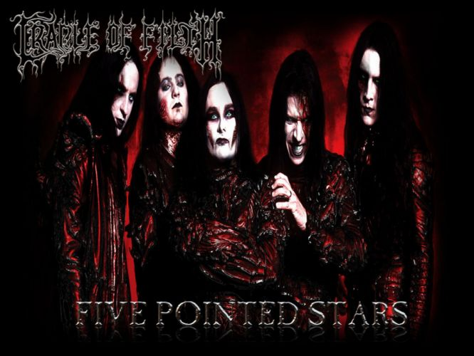 CRADLE OF FILTH gothic metal heavy hard rock band bands group groups b wallpaper