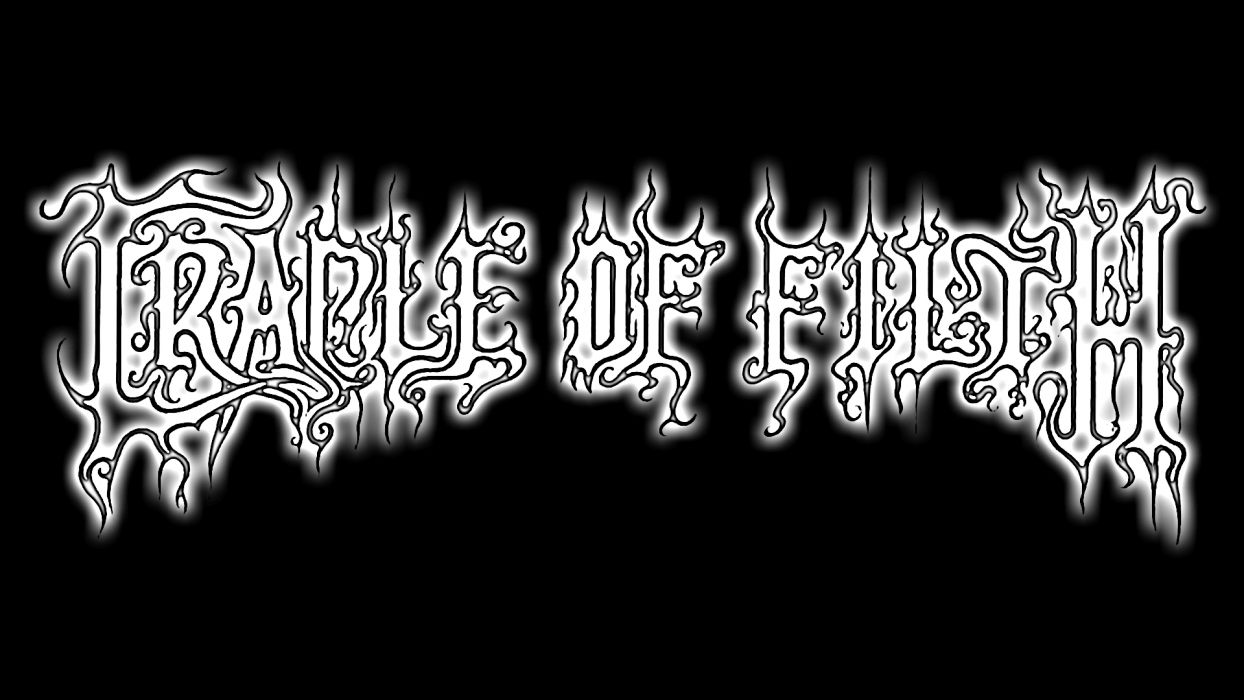CRADLE OF FILTH gothic metal heavy hard rock band bands group groups logo wallpaper