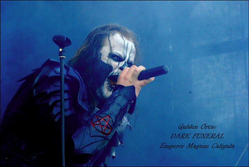 Dark Funeral Black Metal Heavy Hard Rock Band Bands Group
