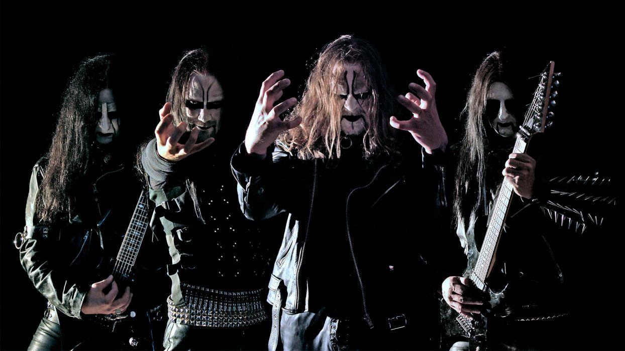 DARK FUNERAL black metal heavy hard rock band bands group groups guitar guitars     a wallpaper
