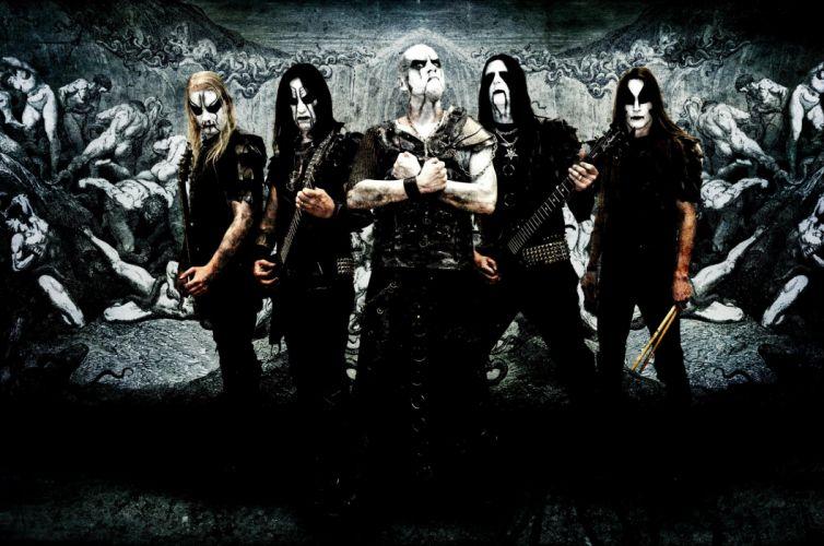 DARK FUNERAL black metal heavy hard rock band bands group groups guitar guitars e wallpaper