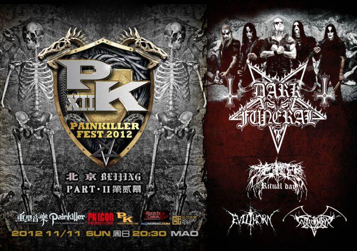 DARK FUNERAL black metal heavy hard rock band bands group groups poster posters concert concerts wallpaper