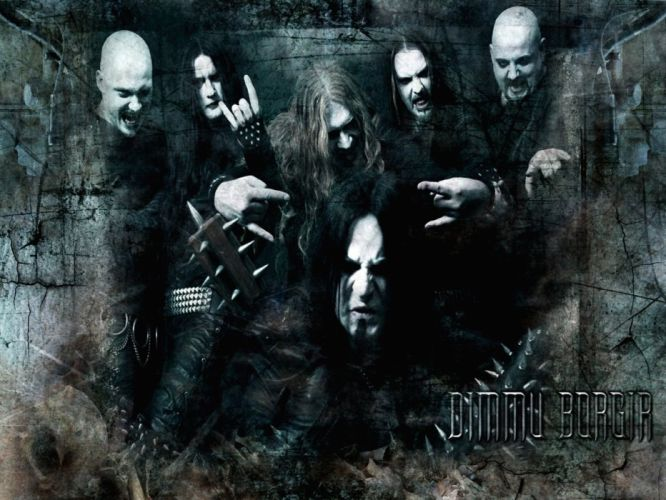 DIMMU BORGIR black metal heavy hard rock band bands group groups f wallpaper