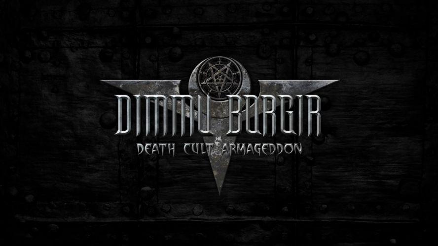 DIMMU BORGIR black metal heavy hard rock band bands group groups v wallpaper