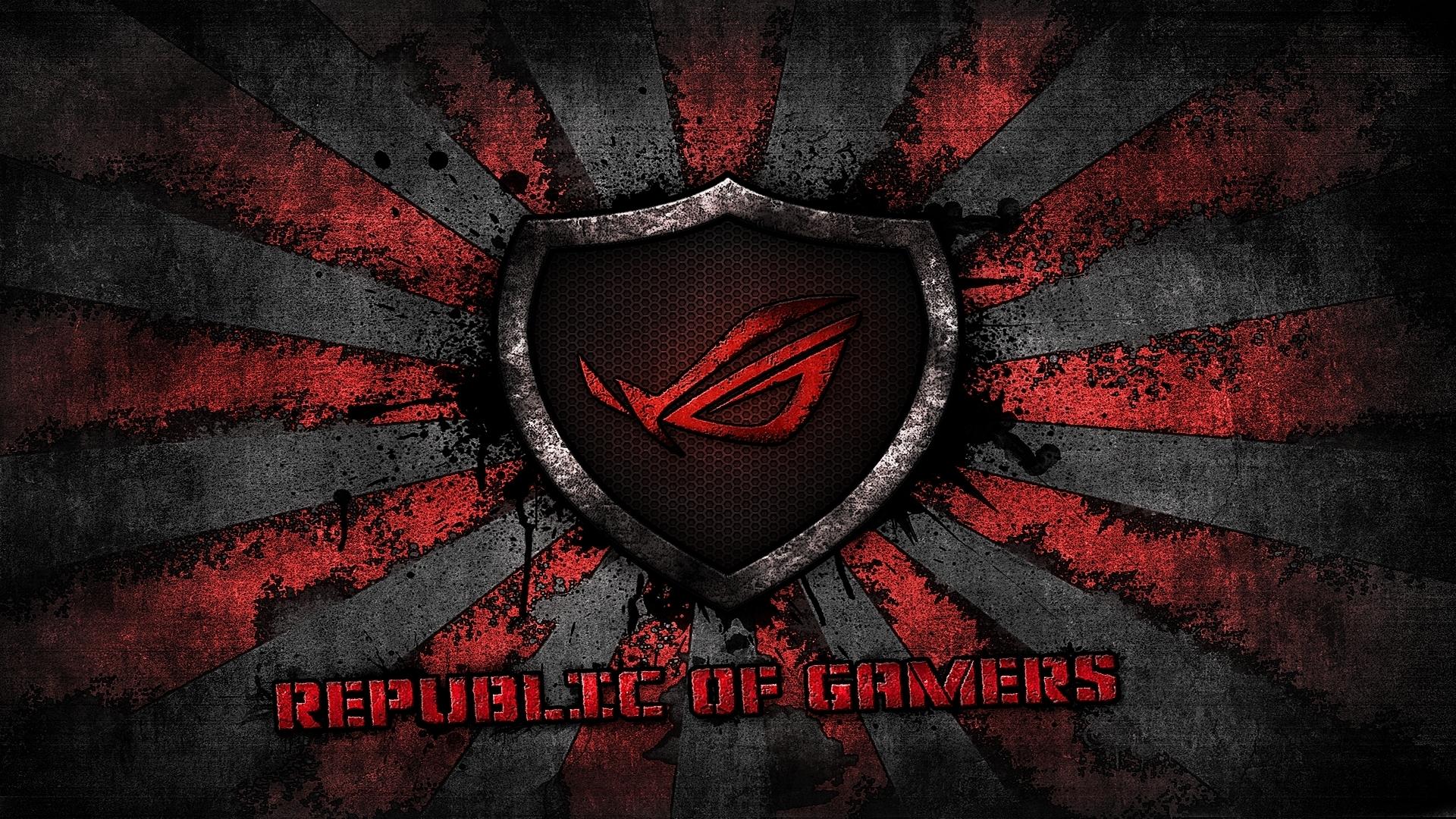Logo Rog Asus Gamer Republic Of Gamers Computer Wallpaper