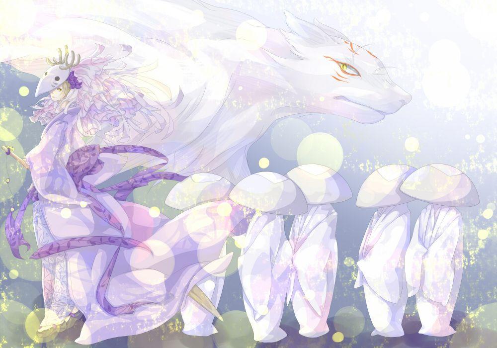 Art  Chodo  natsume Yuujinchou madara  Nyanko-sensei  guy  yokai  horns  nyako-sensei demon wallpaper