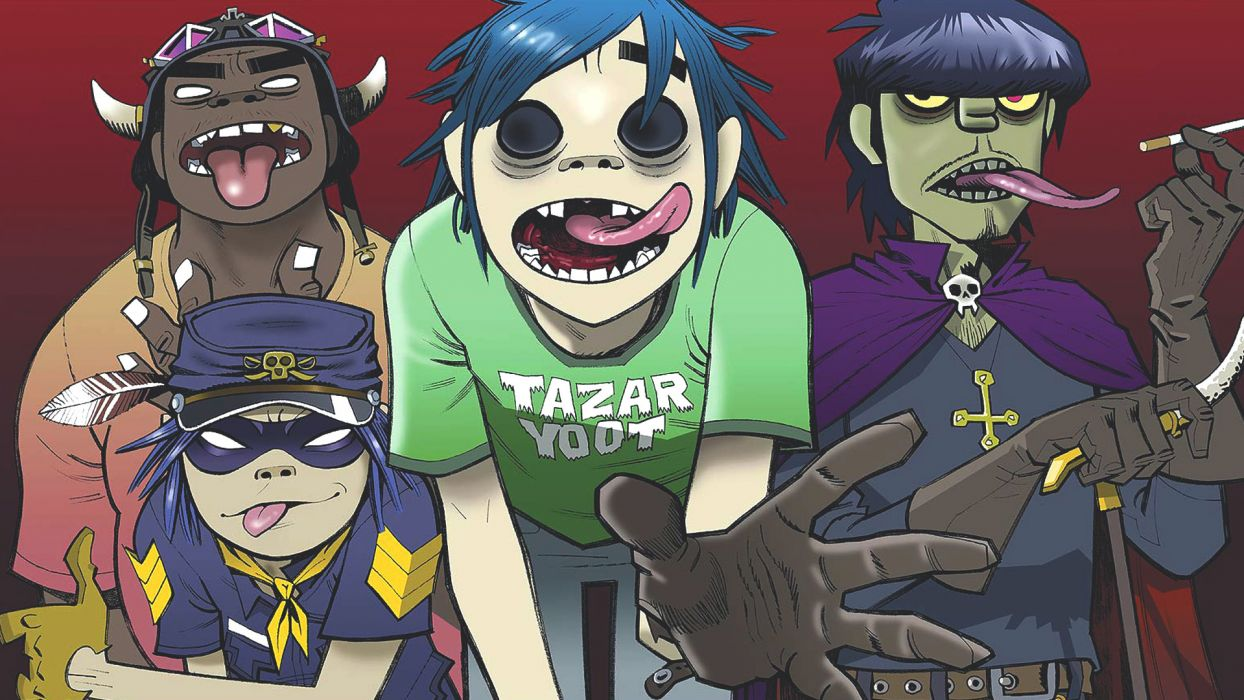 noodle damon Gorillaz wallpaper