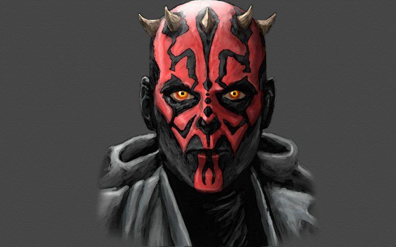 star wars Sith Darth Maul movies wallpaper