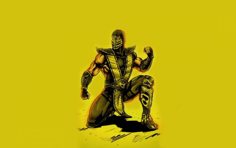 Mortal Kombat comics wallpaper