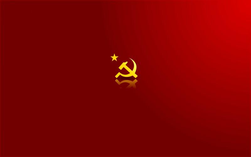 Communist CCCP Red wallpaper