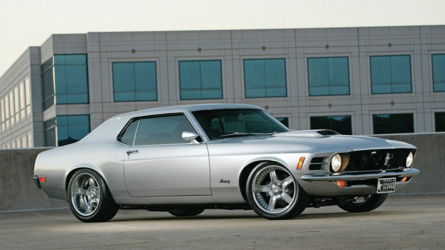 Ford Mustang Classic Car Muscle Cars Hot Rod Rods