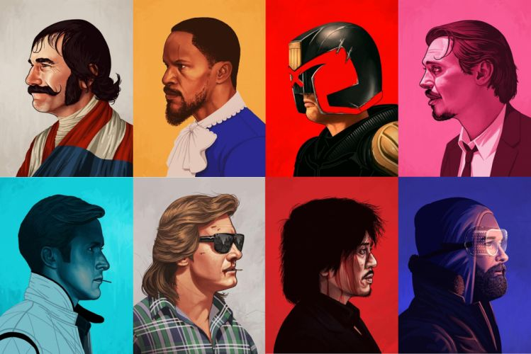 Gangs of New York Django Unchained Judge Dredd Reservoir Dogs Drive The Thing wallpaper