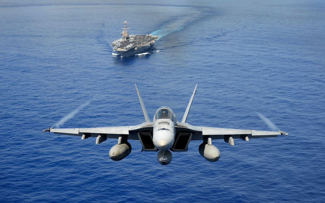 Jet jets fighter military ship ships aircraft carrier wallpaper