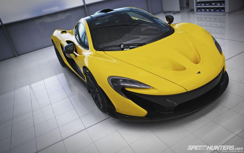 McLaren P1 Yellow supercar supercars x wallpaper