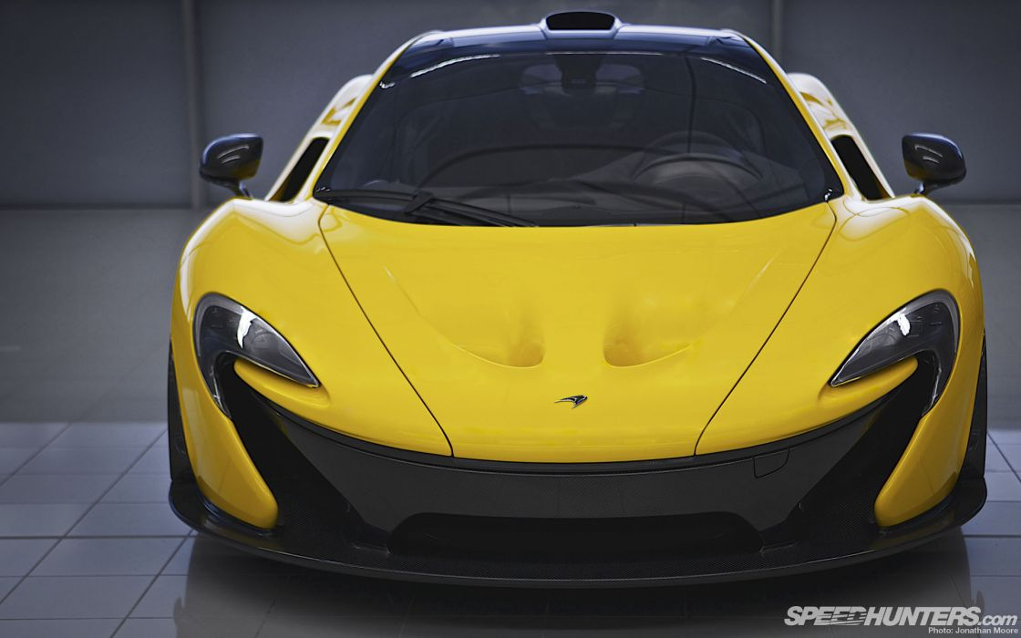 McLaren P1 Yellow supercar supercars wallpaper