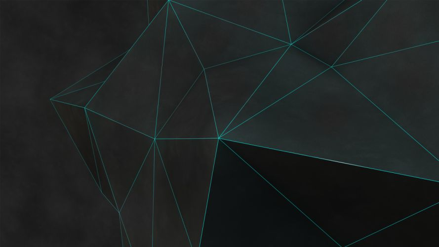 Polygon Art Abstract wallpaper