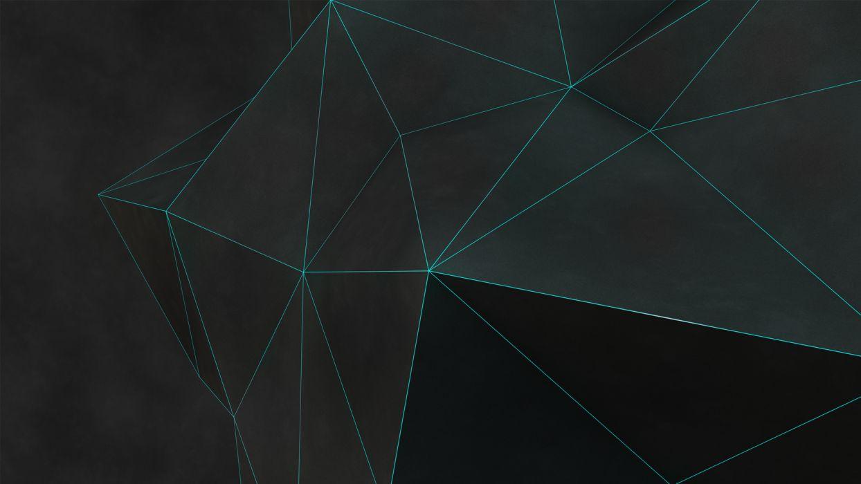 Polygon Art Abstract wallpaper