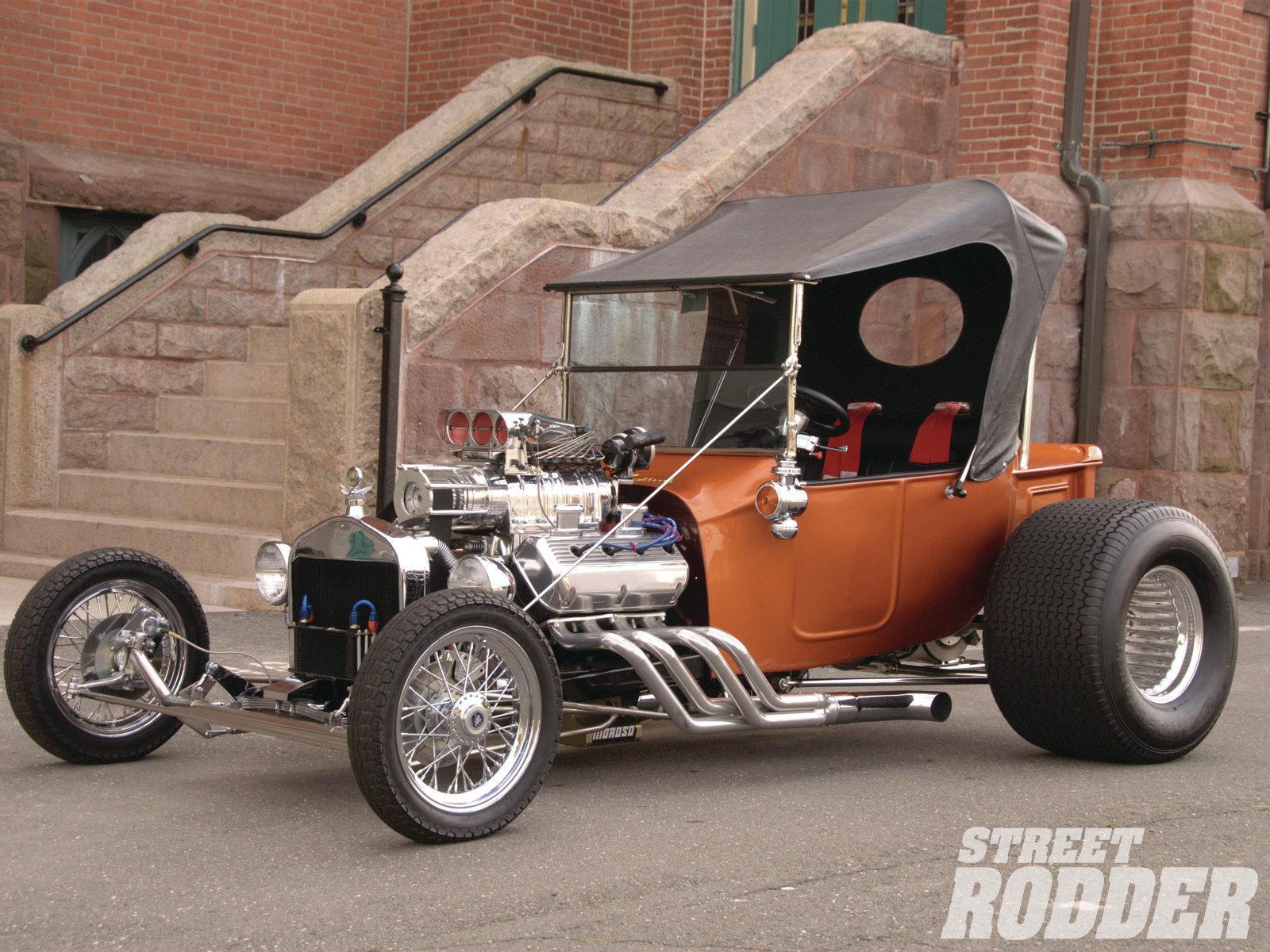 1923 Ford T Bucket Hot Rods Rod Bucket Retro Wallpaper
