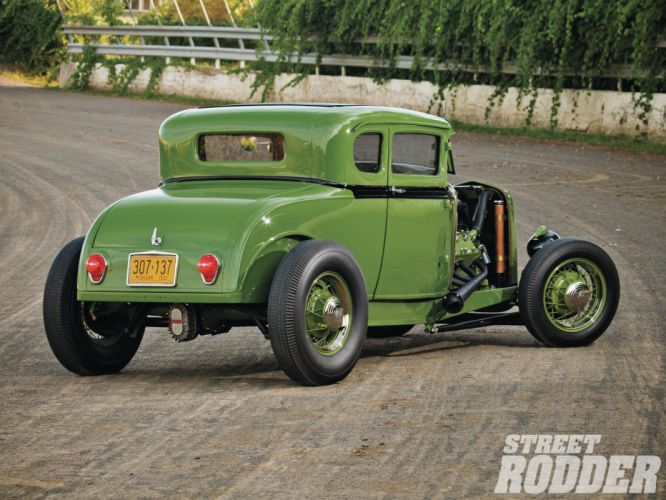 1930 Ford Coupe Model-A model hot rod rods retro wallpaper